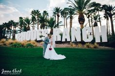Palm trees and blue skies at the beautiful Las Vegas Rhodes Ranch, as seen in Spectacular Bride Magazine. Looking for your perfect Las Vegas Wedding venue/ Join us at the Bridal Spectacular August 18 & 19, 2017 to meet and plan your perfect special day. www.bridalspectacular.com Photo by Jenna Ebert Photography