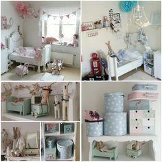 Scandinavian kids room details