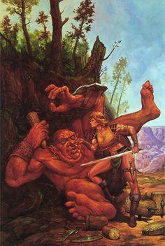 My favorite Jeff Easley painting.