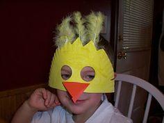 Einfache Küken-Maske