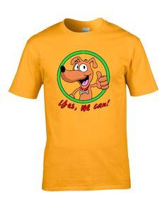 ¿Qué le dice un perro a otro perro? Yes we can! Porque son perros y ellos pueden.  http://www.lacamisetaoriginal.com/para-hombre/yes-can-p-7129.html