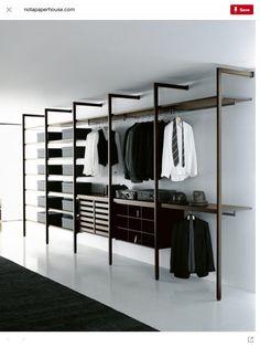 Walk in closet shelves open wardrobe 16 best Ideas Walk In Closet Design, Bedroom Closet Design, Wardrobe Design, Closet Designs, Open Wardrobe, Wardrobe Room, Wardrobe Closet, Wardrobe Ideas, Wardrobe Storage