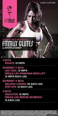 FitMiss Glutes!