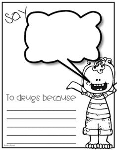 Red Ribbon Week Coloring Pages  RRW  Pinterest  Red ribbon week