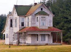Old Farmhouse by cindy47452, via Flickr