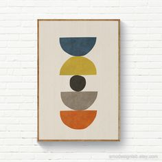 Modern Prints, Modern Wall Art, Art Prints, Abstract Geometric Art, Abstract Wall Art, Circle Art, Scandinavian Art, Mid Century Art, Graphic Patterns