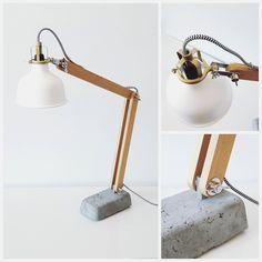 New diy table lamp wood ikea hacks ideas Ikea Desk Lamp, Wooden Desk Lamp, Best Desk Lamp, Table Lamp Wood, Diy Table, Wood Desk, Desktop Lamp, Diy Desktop, Ikea Light Shades