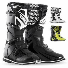 Fly Racing Maverik MX Youth Off Road Dirt Bike Motocross Boots