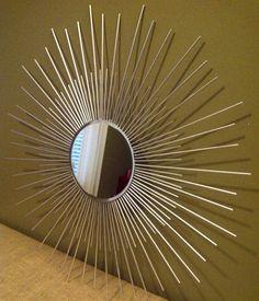 DIY starburst mirror for less than $20