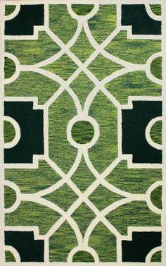 Serendipity 4071 Green Rug