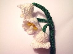 Lily of the Valley free Crochet pattern by Meli Bondre