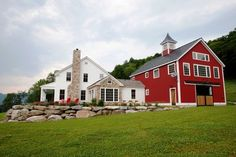 The Eaton Post and Beam Carriage House - traditional - exterior - manchester NH - Yankee Barn Homes