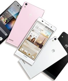 HUAWEI Ascend P6, the world's slimmest smartphone