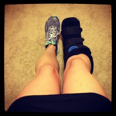 Stress Fracture ... So sick of the boot!