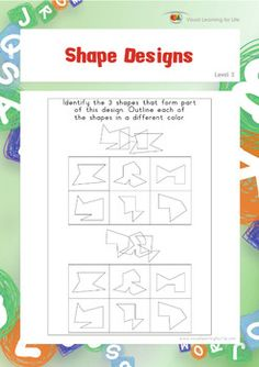 Dot to Dot Designs (Spatial Skills Worksheets) by Visual Learning for Life Learning For Life, Visual Learning, Learning Process, Learning Support, Visual Perceptual Activities, Shapes Worksheets, Preschool Worksheets, Math Activities, Hidden Words