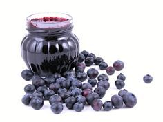 Photo about Jar of blueberry jam and some fresh berries isolated. Image of fruit, confiture, preserve - 1255095 Fruits Images, Blueberry Jam, Preserves, Family Meals, Cookie Recipes, Smoothies, Berries, Homemade, Food And Drink