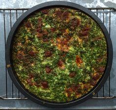 Frittata met boerenkool en chorizo - Barbara EET