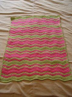 Pink 'n Green Wavy Baby by The Odd Duck Duck, via Flickr