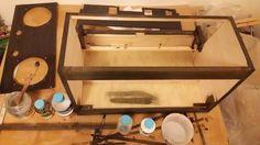 自作楽器研究所|Homemade Instruments: 自作電子ピアノにウレタン水性ニスを塗る。