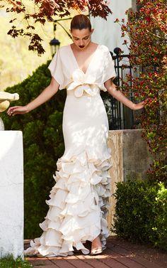 Johanna Ortiz Una rosa en invierno dress
