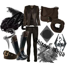 """Skyrim's Thieves Guild"" by acatlady on Polyvore"