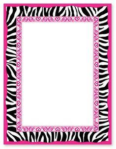 frames e molduras 4 minus marcos frame pinterest clip art rh pinterest com free zebra stripe border clip art