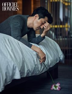 Cha Seung Won - L'Officiel Hommes Magazine April Issue '15