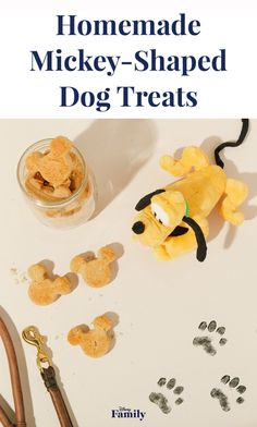 Treat the puppy pal in your Disney Family with homemade Mickey-shaped dog biscuits. Your little ones will love baking something special just for their pup.