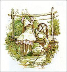 Paz,e tranquilidade, Não se acha mais, na cidade, Por isso, vim pra cá, brincar, Pra minha mente,acalmar.  Serena