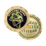 Vietnam Helmet Coins :- Challenge Coins 101 make high quality custom challenge coins for all departments like Army, Navy, Fire Fighter, Coast Guard, Law Enforcement and Police. We offer unique coins at best prices.	  http://www.challengecoins101.com/