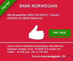 Research before dealing with any Aasa bank online. To get more information visit http://lainafirma.fi/bank-norwegian/