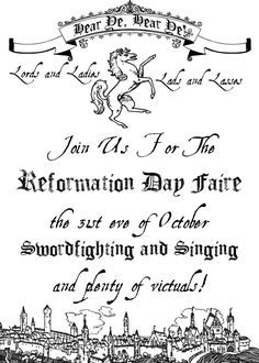 Invitation To A Reformation