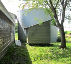 granary before remodeling into chicken coop