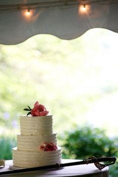 Virginia Wedding Cake 275x412 Rustic Spring Wedding Reception in Virginia: Amelia + Paul