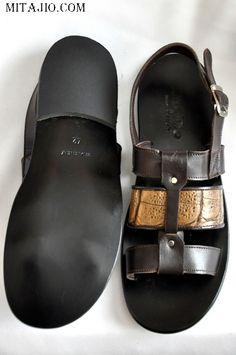 Italian Leather Sandals-DPMRZ56
