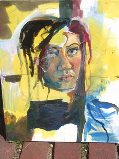 Oils self-portrait