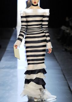 Gaultier 2013, so love this.