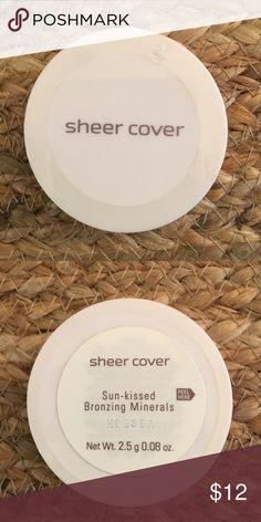 Sheer Cover Sun-kissed Bronzing Minerals NWOT. Sealed. 2.5g 0.08g Makeup Bronzer