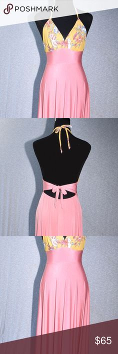 Salmon Color Jersey Casual Maxi Dress CONDITION New With Tags This item has  original tags and 5d065bf7532f9