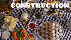 Simply Sarah Style: A Construction-Themed Party Festive Enough for Adults