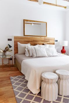 Blanco, sereno y acogedor en Madrid · White, serene and cozy in Madrid
