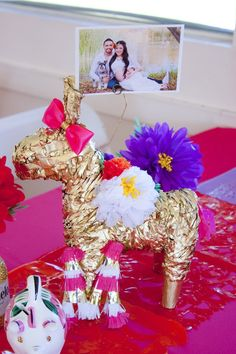 Colorful Mexican Themed Baby Shower with Lots of Really Fun Ideas via Kara's Party Ideas