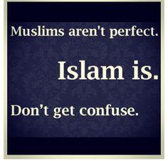 Muslims aren't perfect...