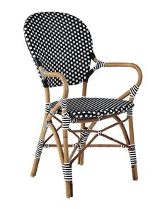 Gentil A Classic 1930s European Bistro Chair, Reinterpreted. Handcrafted Of  Sustainable Rattan And Woven Plastic