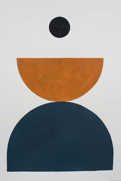 Bobby Clark — Shape Study 11 navy and rust colour design graphic collage Art And Illustration, Illustrations, Kunst Inspo, Art Inspo, Palette Pastel, Modern Art, Contemporary Art, Diy Décoration, Art Abstrait