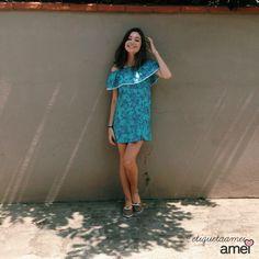 Muitos vestidinhos ️leves e lindos chegaram na @loja_amei ✨☀️ #lojaamei #amando #etiquetaamei #vestido #verao #viscose #leve