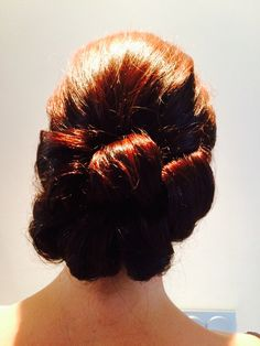 The vintage barreled look. Popular with Brides and their maids. Learn how to do this on a Jo black training day. Dates are soon to be released starting from November this year in Essex. July Wedding, Wedding 2015, Barrel Curls, Training Day, Wedding Hairstyles, Popular, Maids, November, Vintage