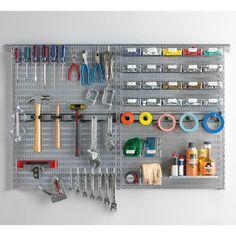 Platinum elfa utility Workshop Organizer Board | SALE $298.76 @Nick C C C C Edwards garage storage