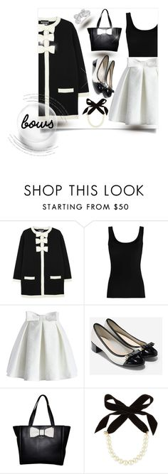 """Untitled #845"" by bonnie-wright-1 ❤ liked on Polyvore featuring Boutique Moschino, Twenty, Chicwish, Cole Haan, Kate Spade, Lulu Frost and Allurez"