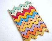 Wood Chevrons,  Painted Zig Zag Wood Chevron Tile for Jewelry,Geometric Jewelry,